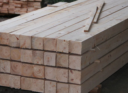 First Grade sawn softwood (Grade 1)