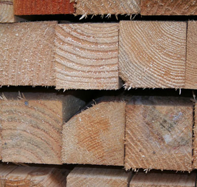 Mixed and Second Grade sawn softwood